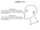 Head Neck powerPoint template